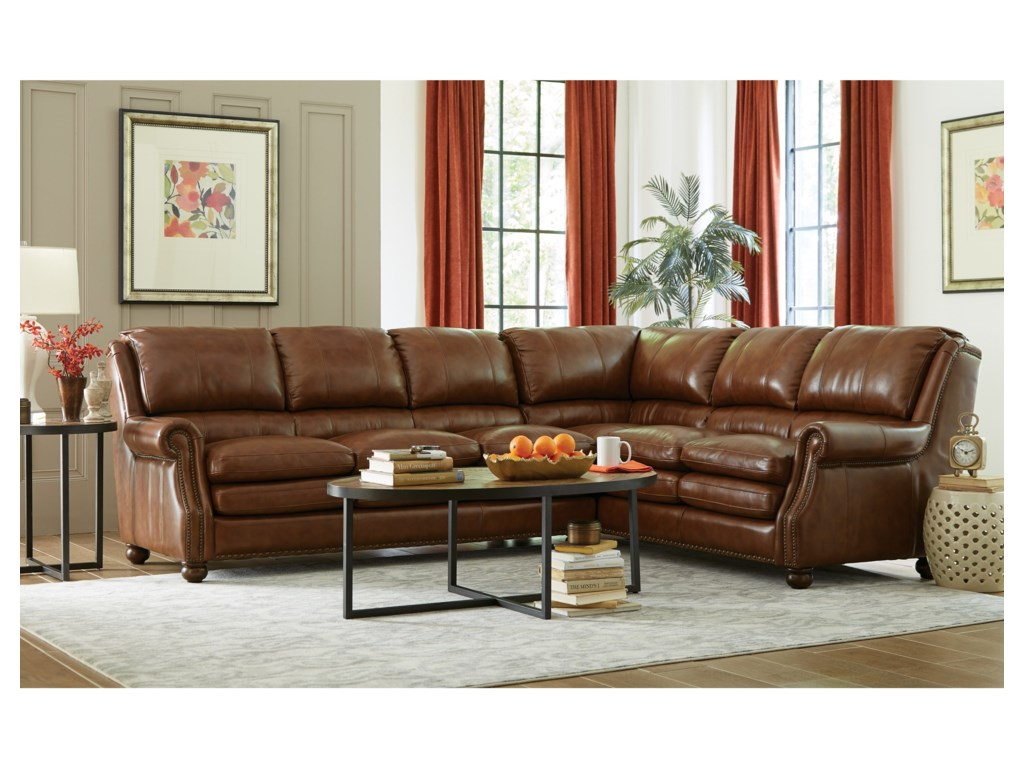 Craftmaster L1646502 Pc Sectional Sofa