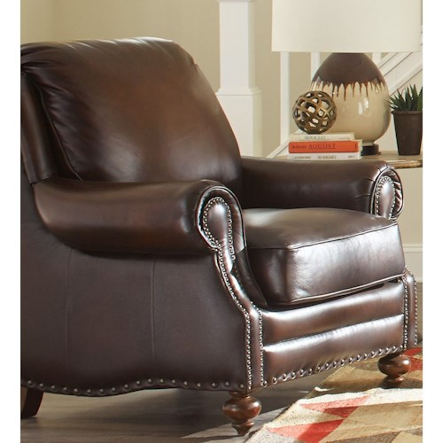 Craftmaster L171250 Craftmaster Traditional Leather Chair