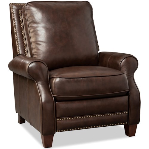Craftmaster L173050 Transitional Recliner with Nailhead Studs