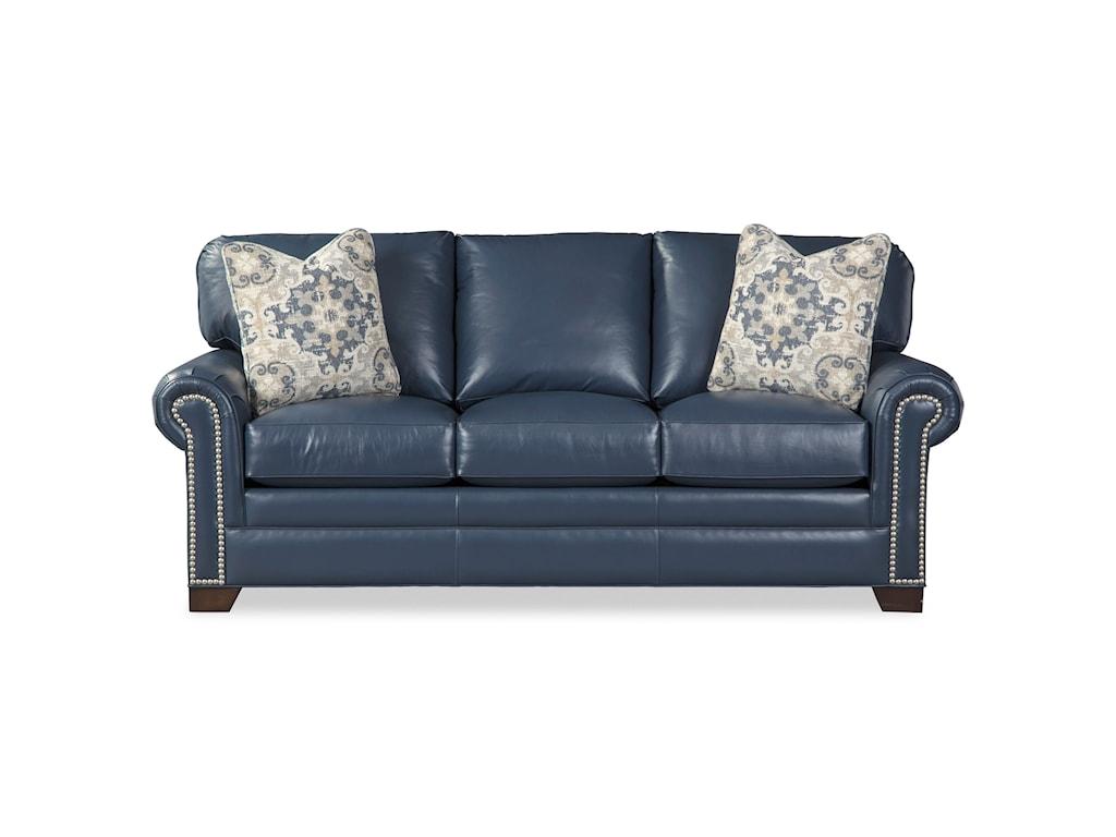 Craftmaster L756550Sofa w/ Nailheads & Pillows