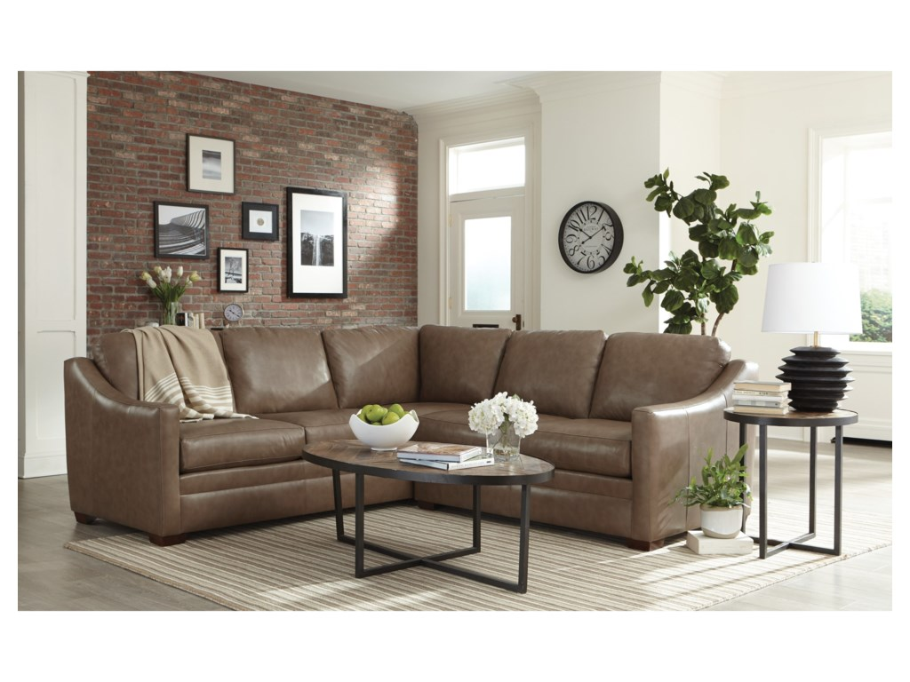 Hickorycraft L9 Custom - Design OptionsCustom 2 Pc Sectional Sofa