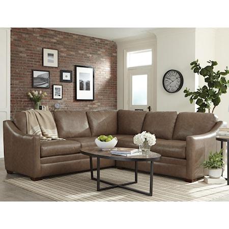 Custom 2 Pc Sectional Sofa