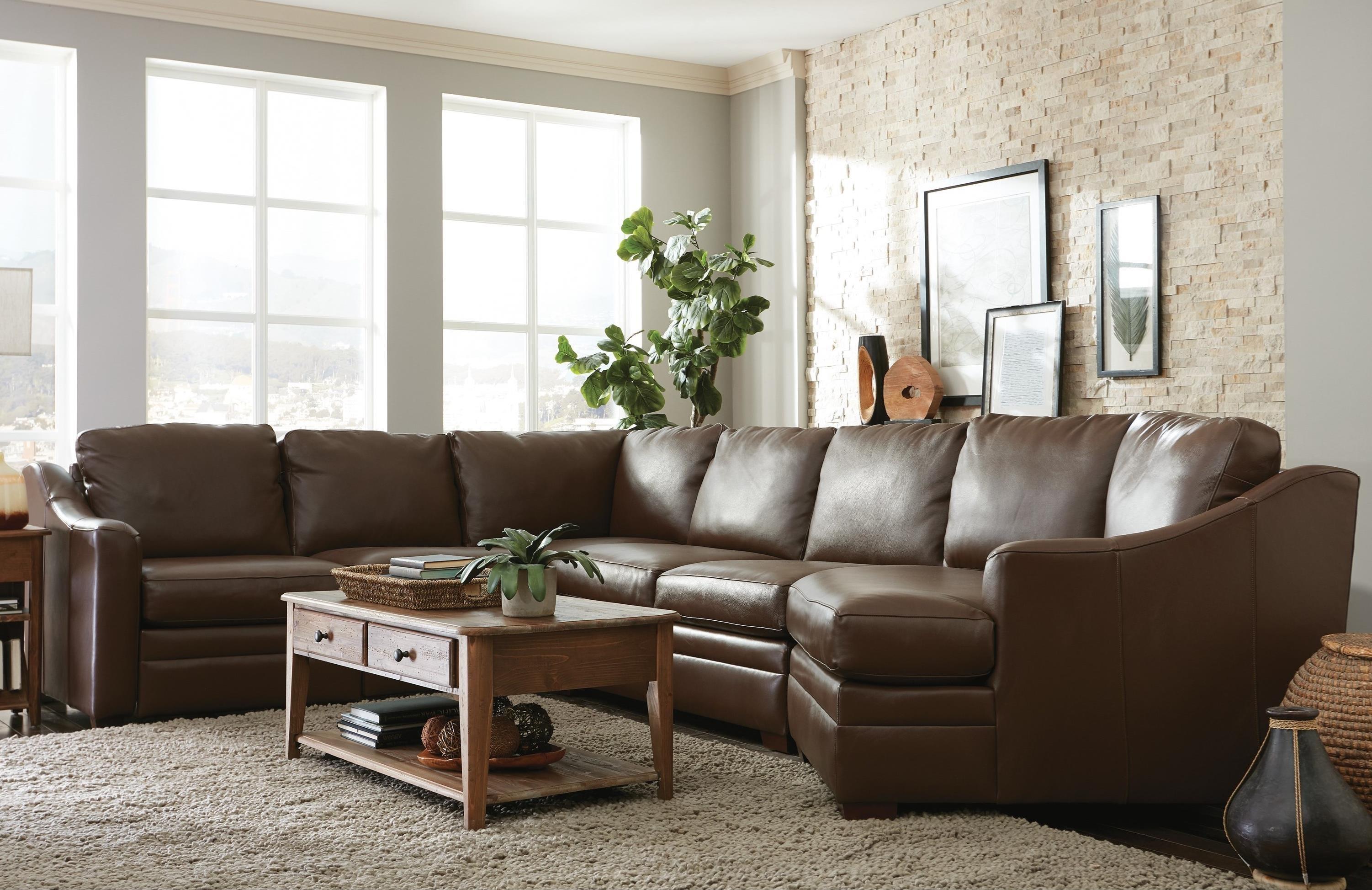 Merveilleux Craftmaster L9 Custom   Design Options3 Pc Sectional Sofa W/ Power Recliner  ...