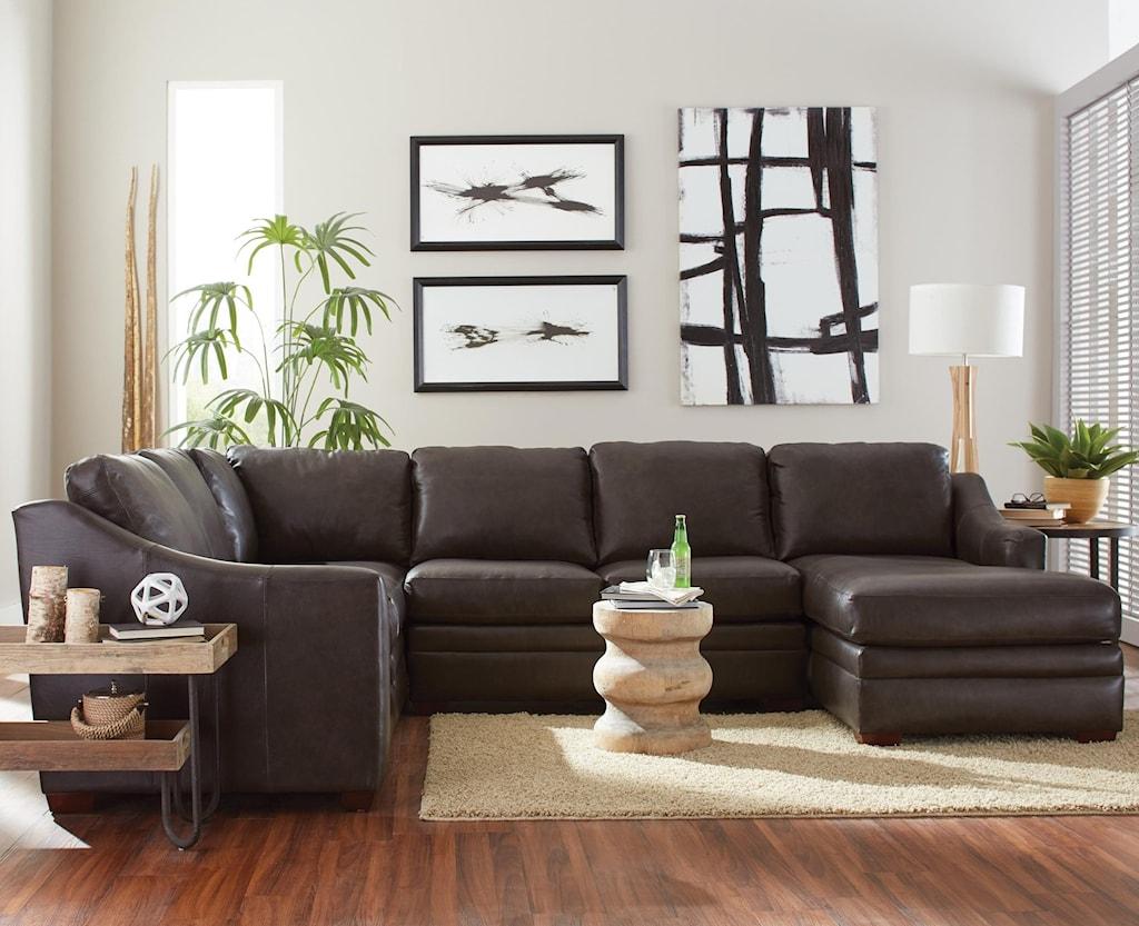 Craftmaster L9 Custom Design Options Customizable 3 Piece Leather