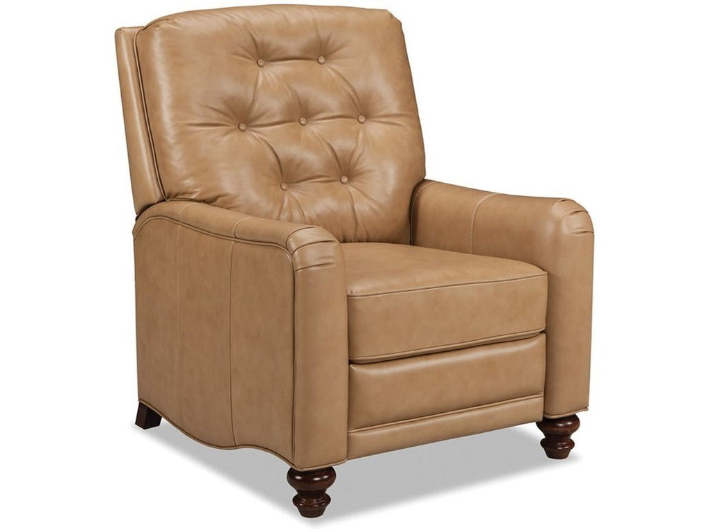 Craftmaster Leather AccentsHigh Leg Recliner
