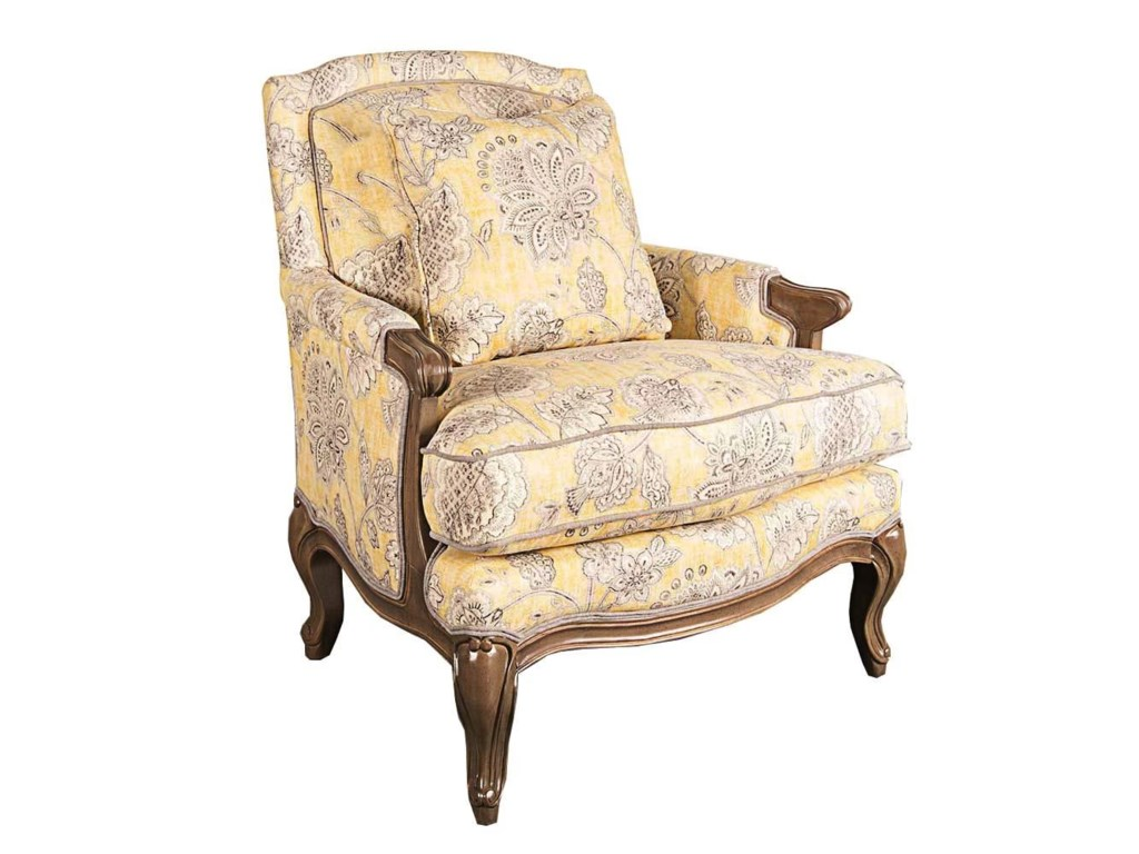 Main & Madison LyneeLynee Wood Accent Chair