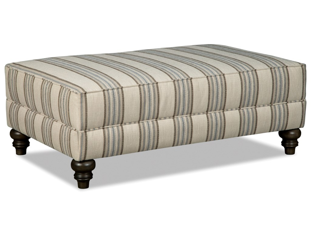 Hickorycraft M9 Custom - Design OptionsCustom Large Rectangular Cocktail Ottoman