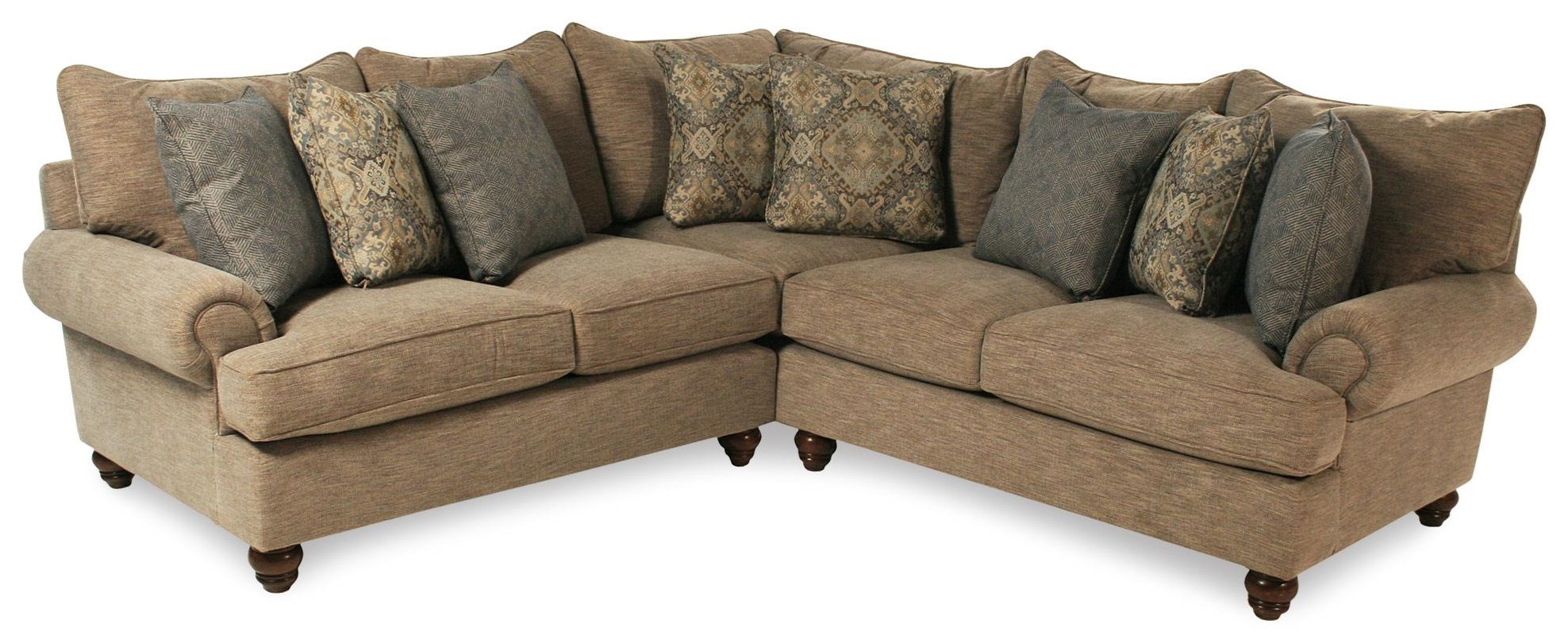 Samantha 2PC Sectional Sofa By Cozy Life At Rotmans