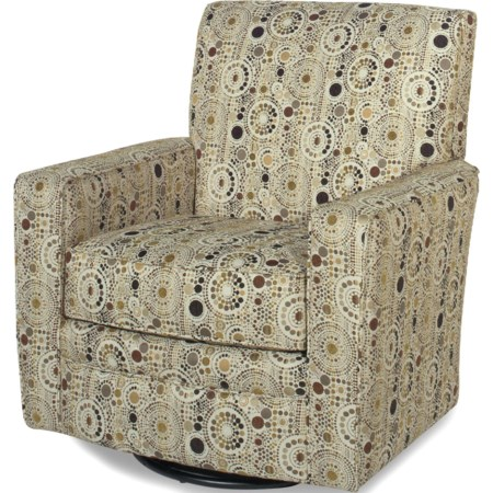 Upholstered Swivel Glider