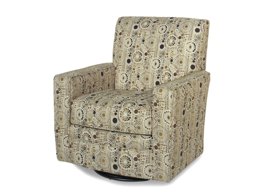 Craftmaster Swivel Chairs 004910SG Contemporary Upholstered ...