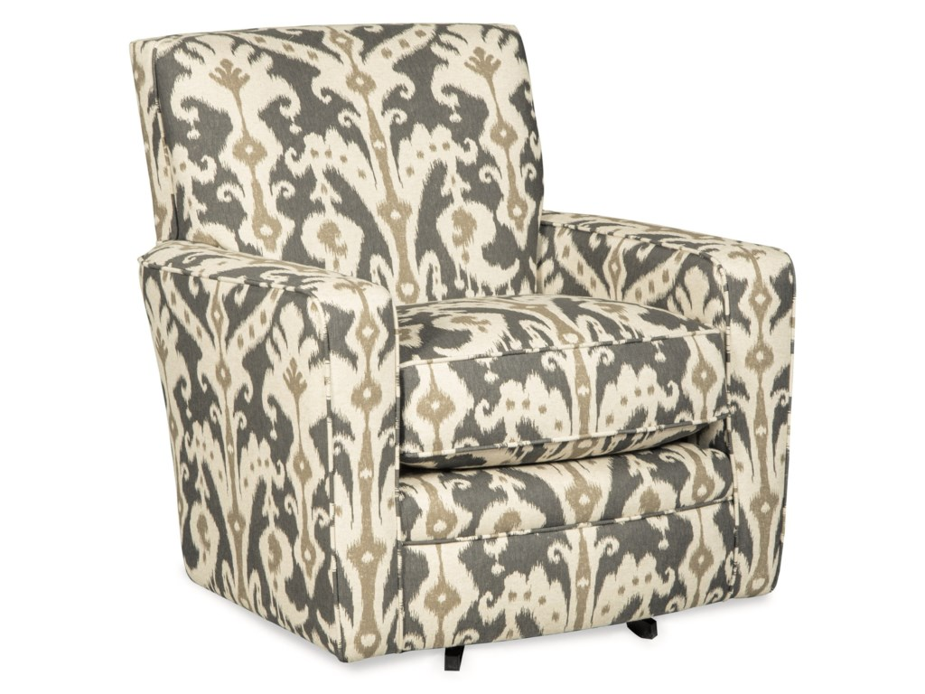 Craftmaster Swivel Chairs 005010SC Contemporary Upholstered ...