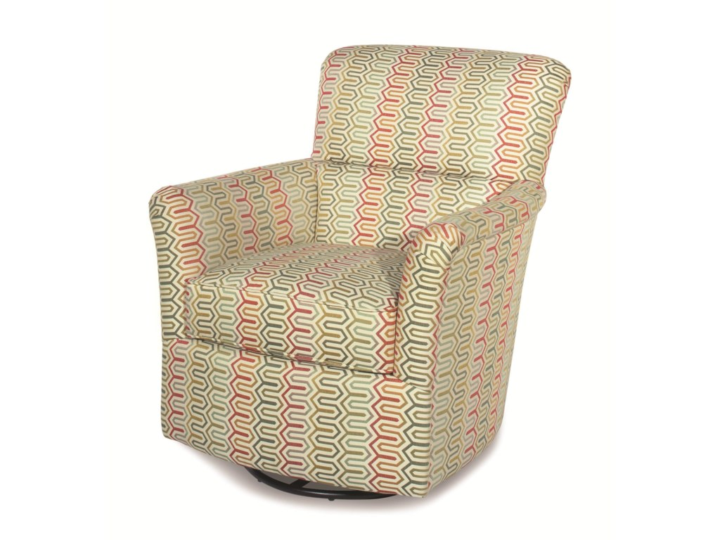 Craftmaster Swivel ChairsUpholstered Swivel Glider Chair