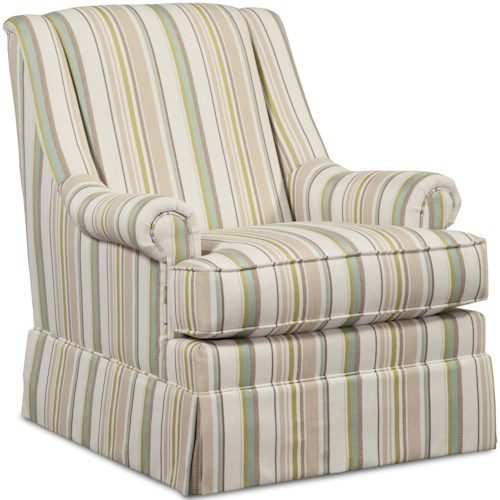 craftmaster swivel chairs skirted swivel glider chair with rolled