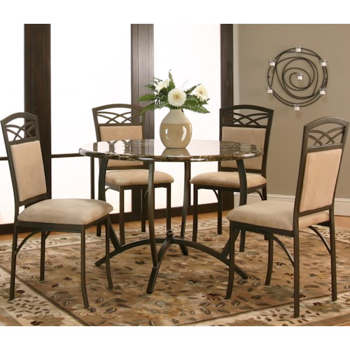 Cramco, Inc Atlas  5 Piece Table and Chair Set