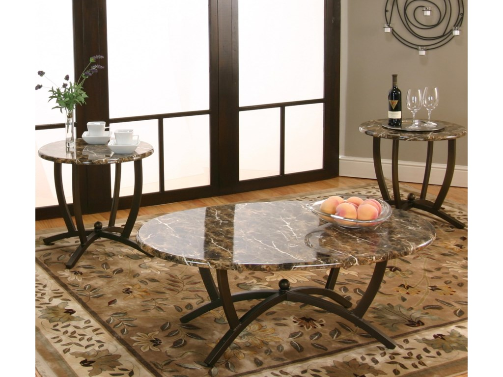 Cramco, Inc Atlas 3 Pack Occasional Tables