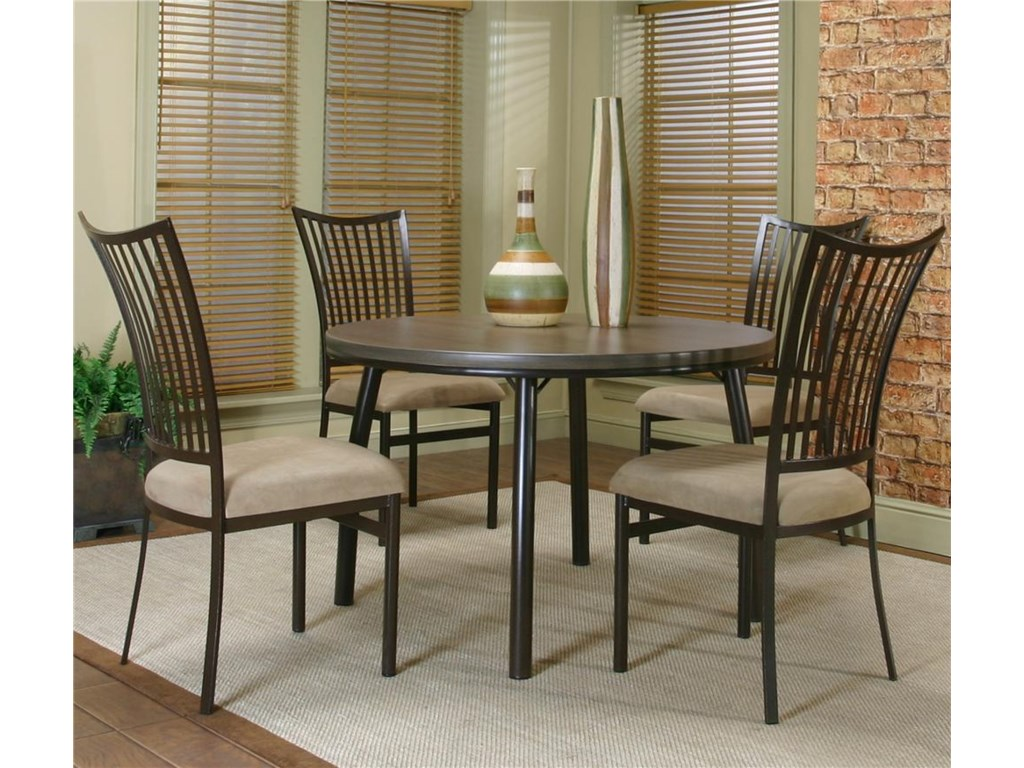 Cramco, Inc Cramco Dinettes - BellevueTable and Chair Set
