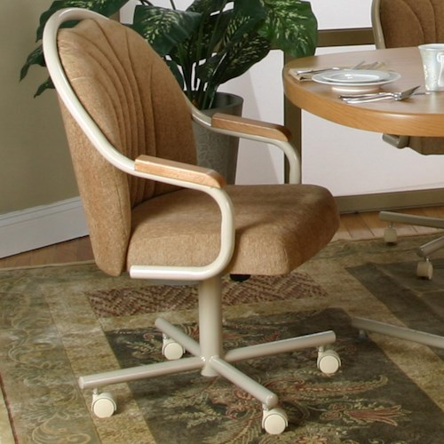 Cramco, Inc Blair Tilt-Swivel Chenille Chair