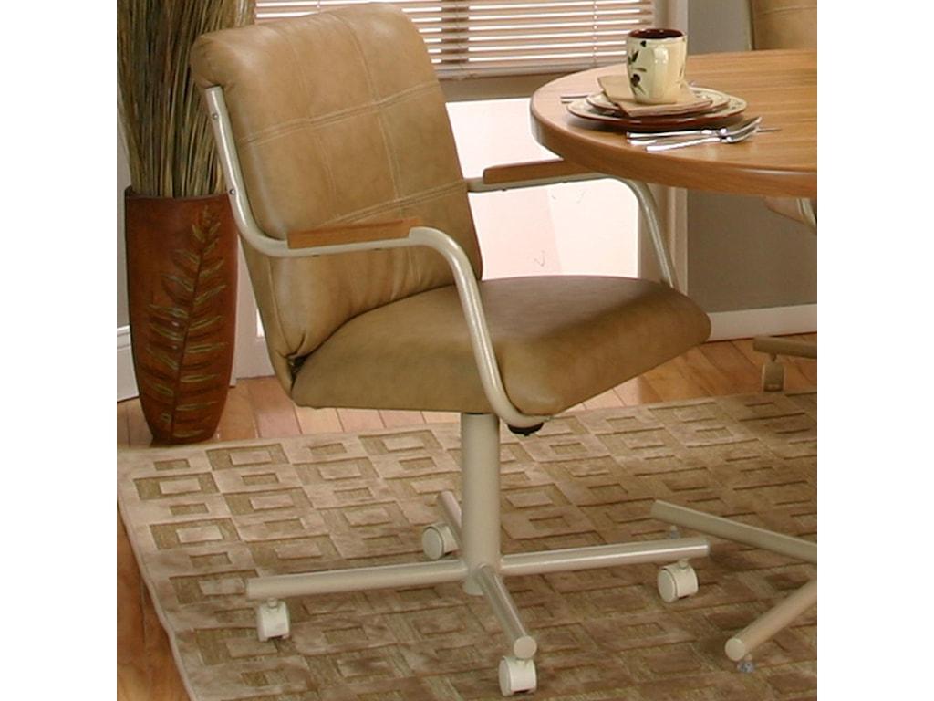 Cramco, Inc Cramco Motion - Carter Mocha/Buff Chair