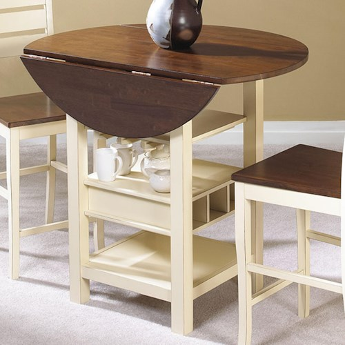 Cramco, Inc Cascade Drop Leaf Pub Table