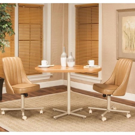 3-Piece Table and Chair Set