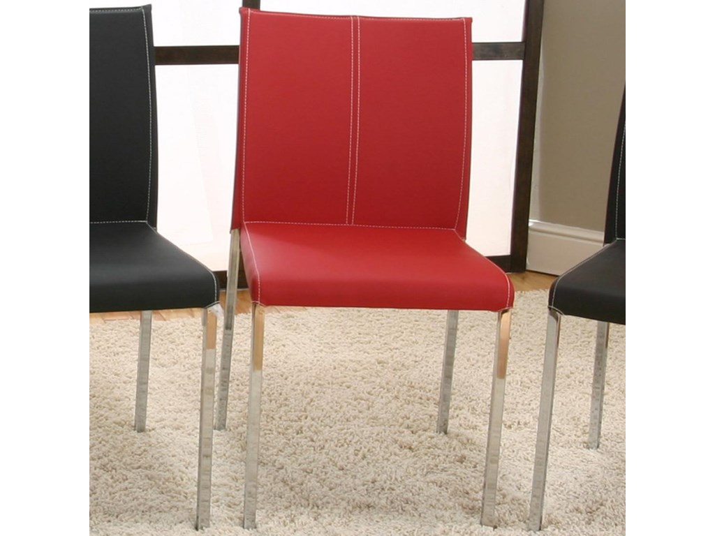 Cramco, Inc Contemporary Designs - CoronaChrome Stack Chair