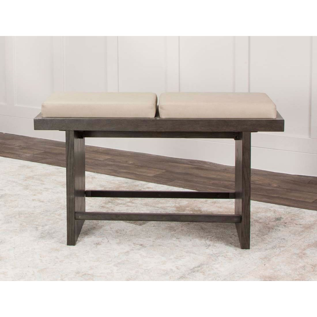 Cramco, Inc Cougar Dining Bench With Split Cushion Seat