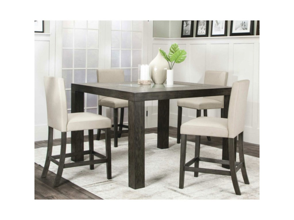Cramco, Inc CougarTable, Chair and Dining Bench Set