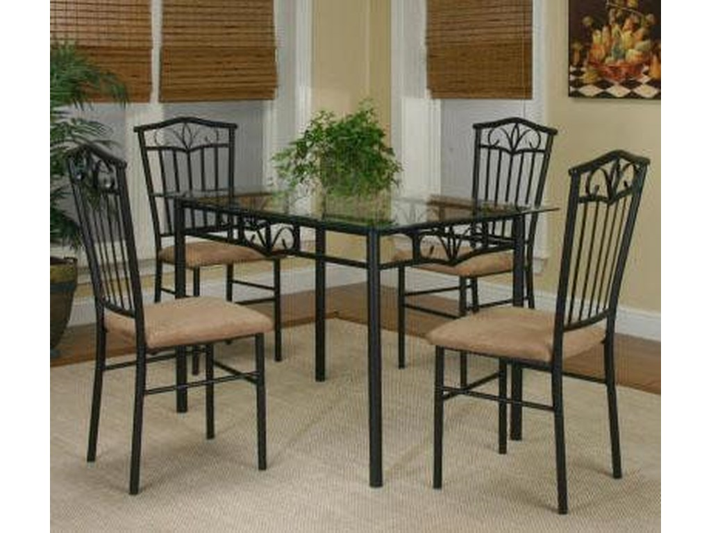 Cramco, Inc Cramco Trading Company - Laurel5-Piece Dining Set