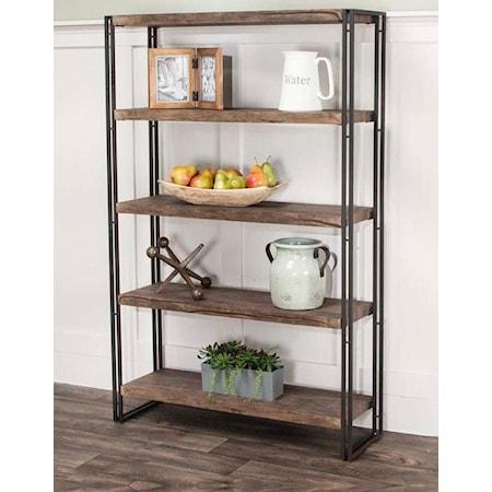 Daria 5 Shelf Bookcase
