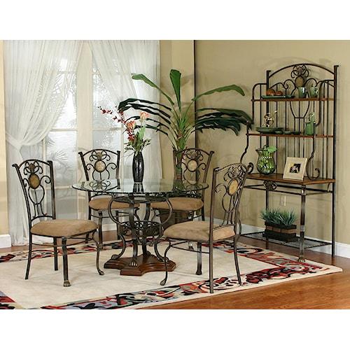 Cramco, Inc Design Line - Allegro Dining Room Group