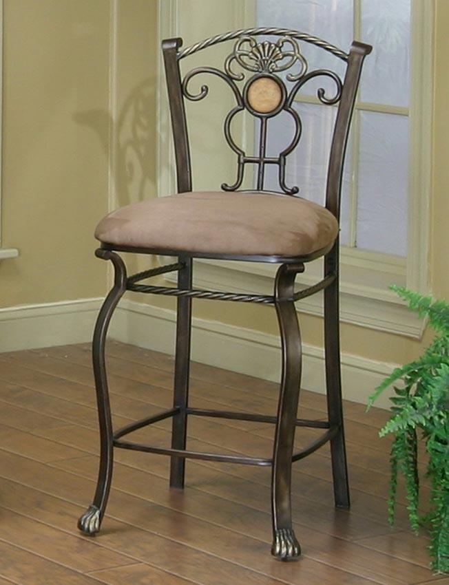 Cramco Inc Design Line Allegro 24 Counter Stool With Upholstered