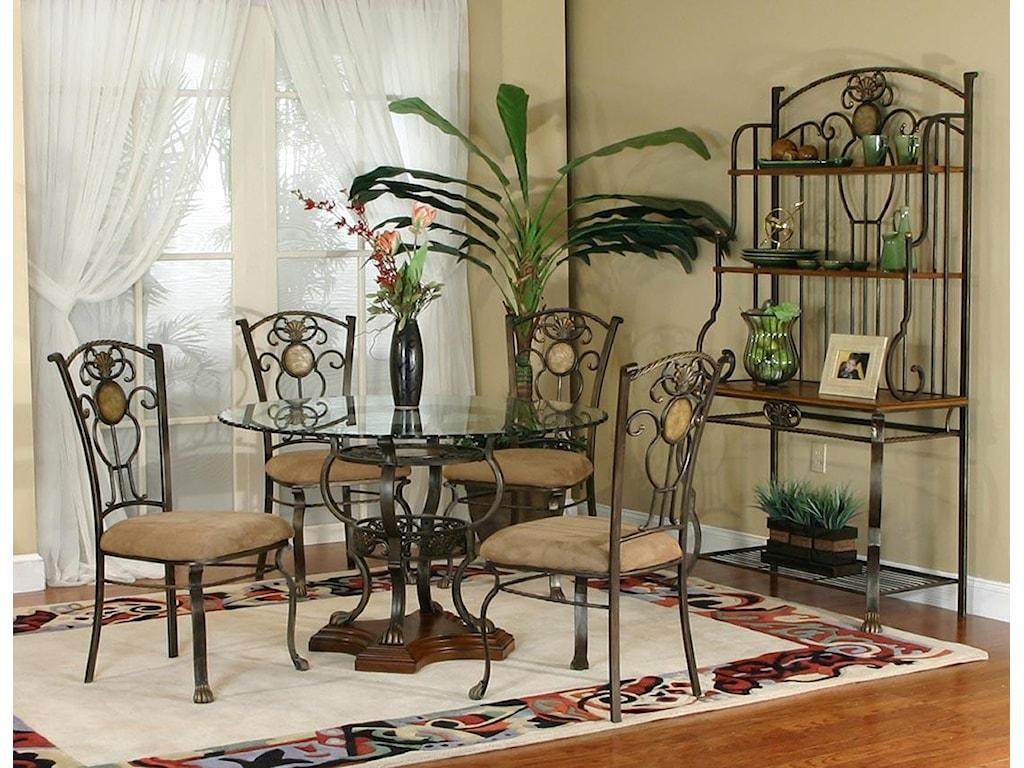 Cramco, Inc Design Line - Allegro5 Piece Dining Set