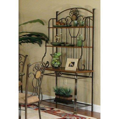 Cramco, Inc Design Line - Allegro 4-Shelf Baker's Rack