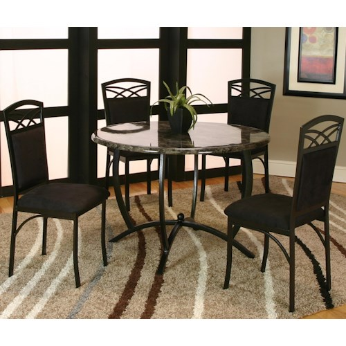 Cramco, Inc Electra 5 Piece Table and Chair Set