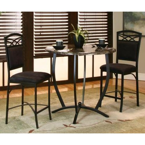 Cramco, Inc Electra 3 Piece Counter Table and Stool Set