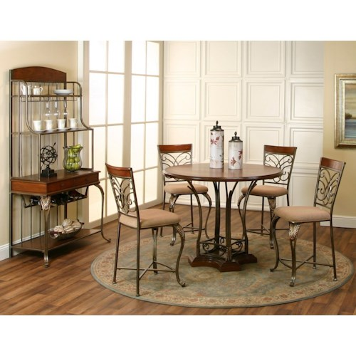 Cramco, Inc Harlow Counter Height Dining Room Group