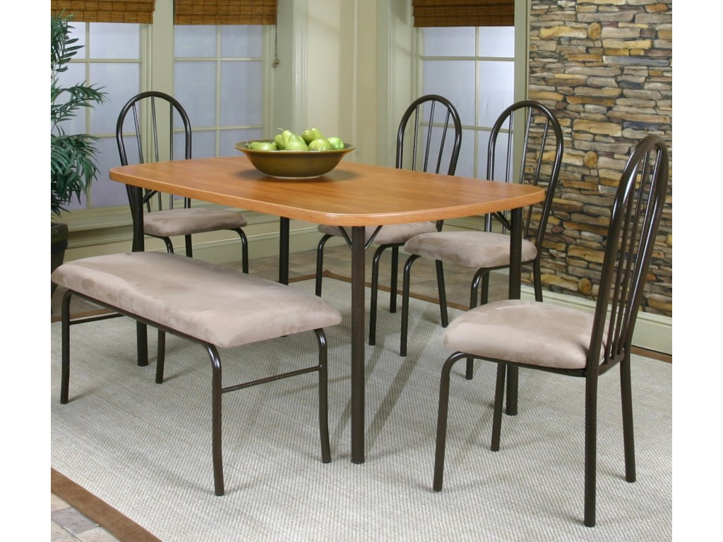 Shown with Laminate Table and Bench