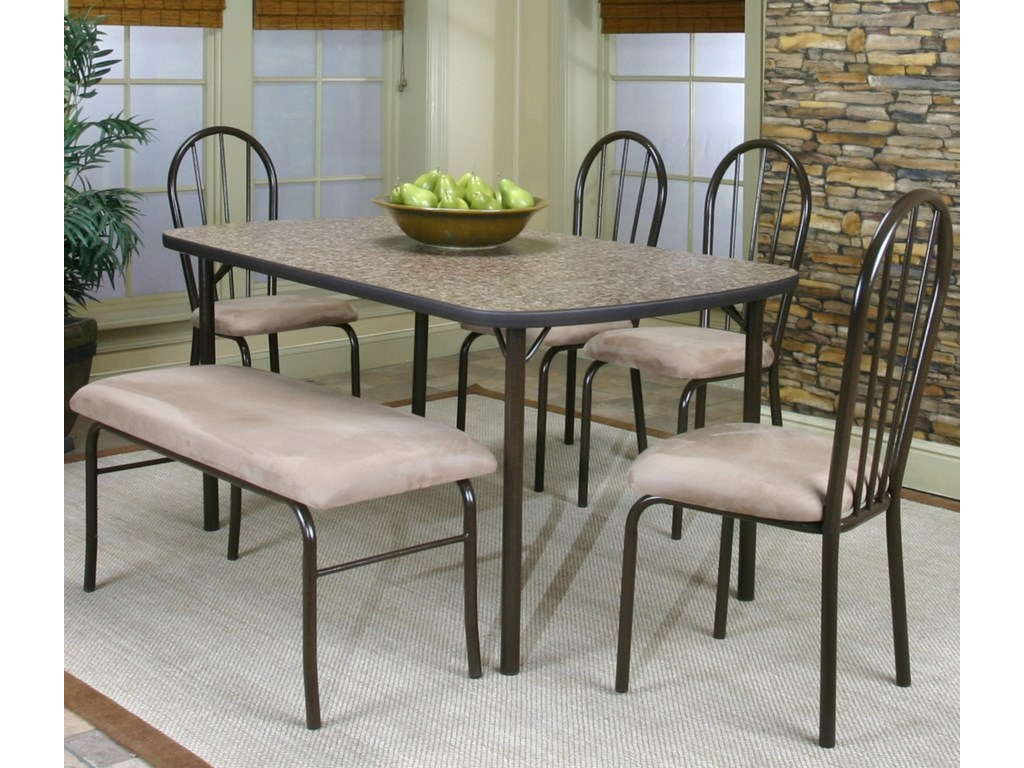 Shown with Granite Laminate Table and Bench