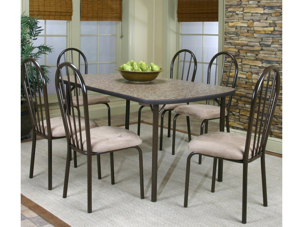 Cramco, Inc Cramco Dinettes - Heath7 Piece Dining Set