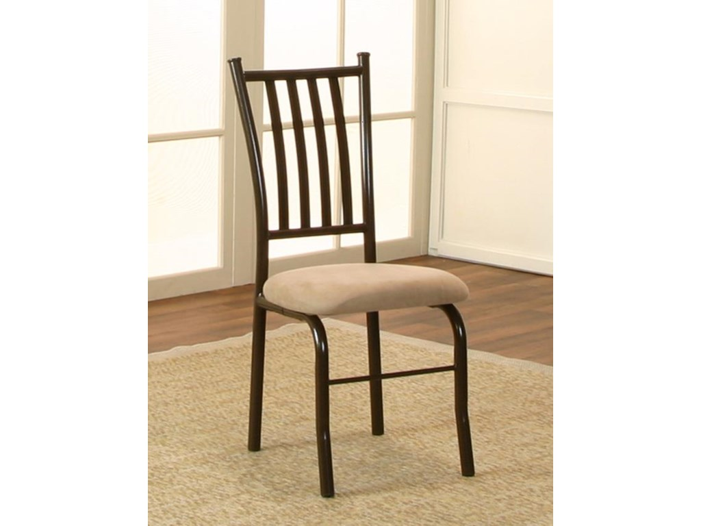 Cramco, Inc JaceyMicrosuede Side Chair