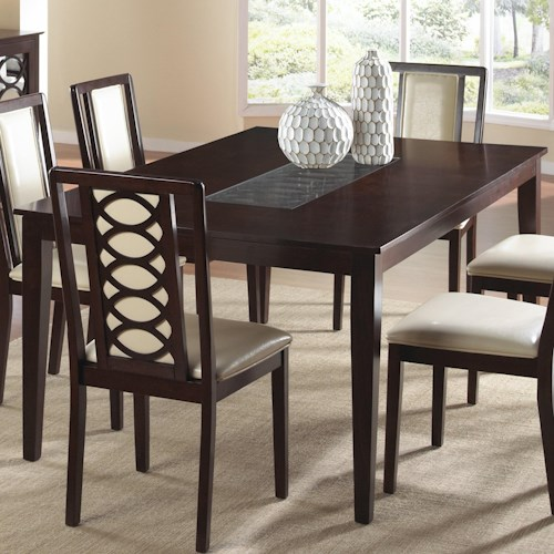 Cramco, Inc Jasmyn Rectangular Wood Table