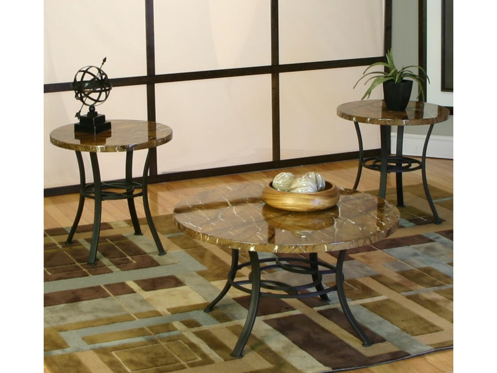 Cramco, Inc KadenThree Pack Occasional Tables