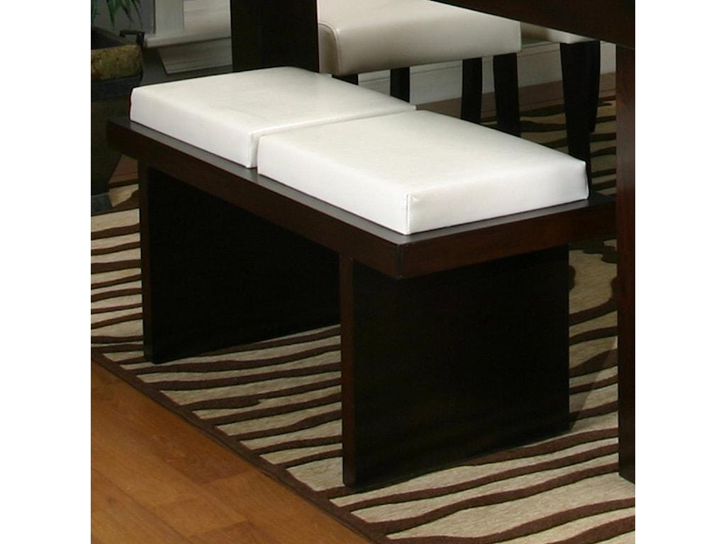 Cramco, Inc Contemporary Design - KemperTwo Cushion Bench