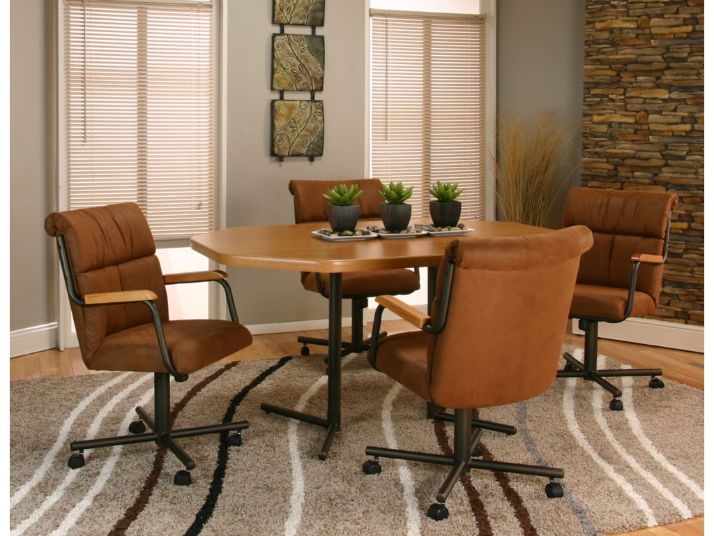 Cramco, Inc LandonDining Chair with Casters