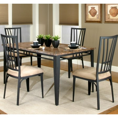 Table and Chair 5 Piece Set