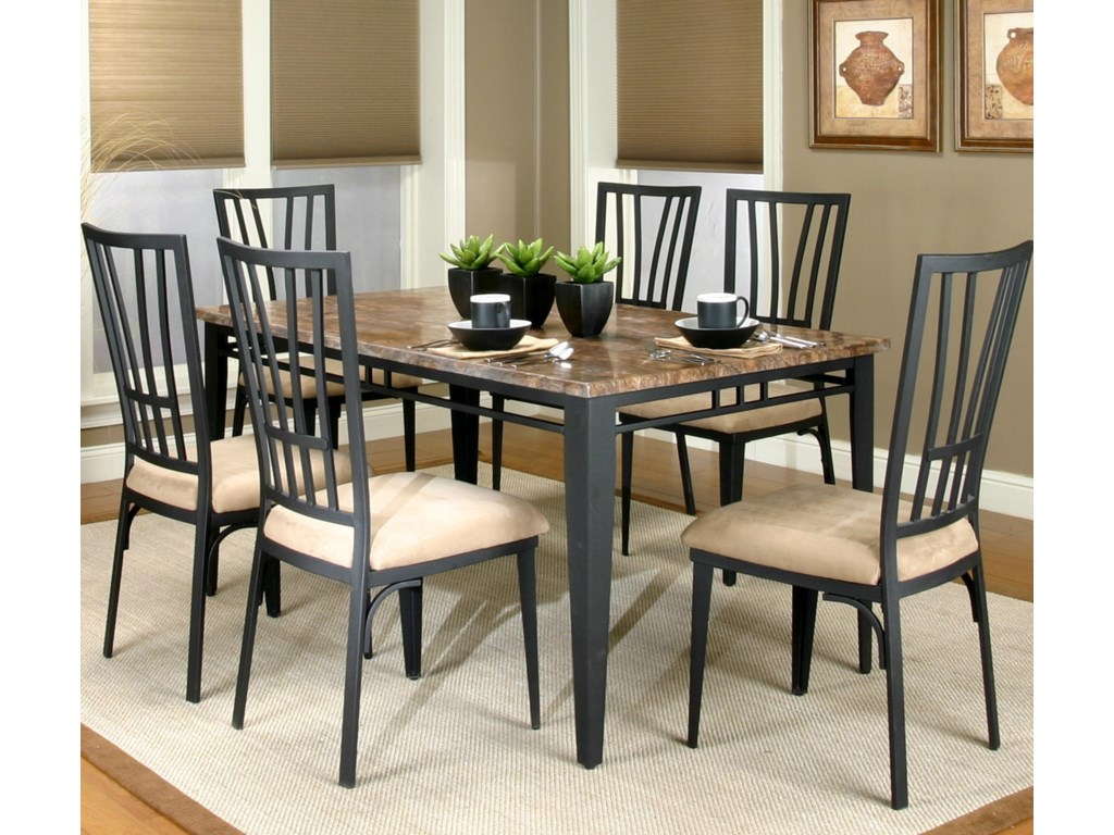 Cramco, Inc Cramco Trading Company - LingoTable and Chair 7 Piece Set