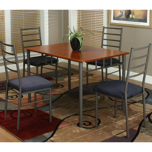 Cramco, Inc Marcy 5 Piece Dining and Chair Set
