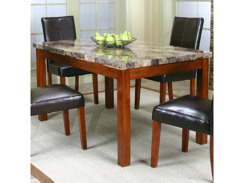 Cramco, Inc Cramco Trading Company - Mayfair Faux Marble Top Table