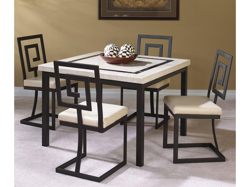 Cramco, Inc Maze5 Piece Dining Set
