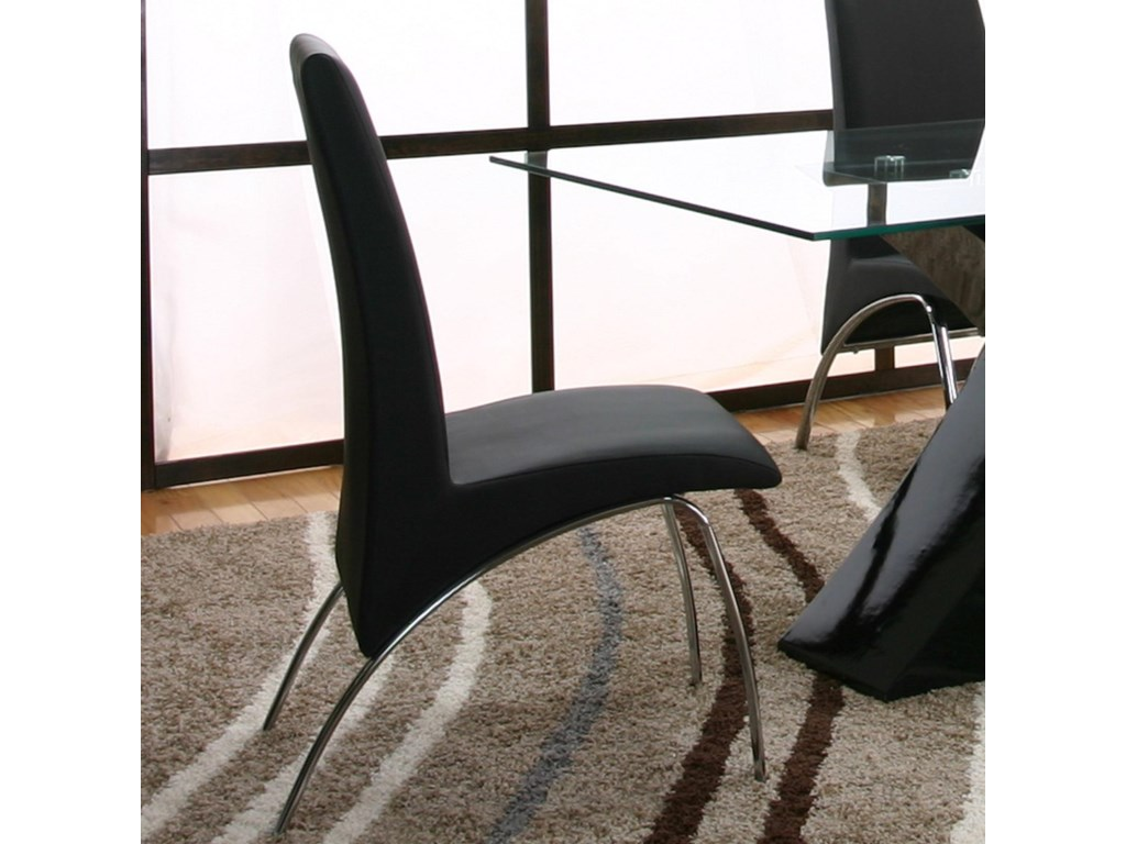 Cramco, Inc MensaBlack Side Chair